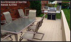 Deck Refinishing, Restoration, Resurfacing & Staining in Madison, NJ 07940