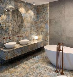 Poznaj aranżacje wprost z naszych Salonów sprzedaży. Mamy nadzieję, że zainspirują Państwa do stworzenia pięknego wnętrza. Zapraszamy do odwiedzenia MaxFliz, gdzie można zobaczyć jeszcze więcej ekspozycji. Beach House Bathroom, Master Bathroom, Bathroom Design Small, House In The Woods, Bathroom Inspiration, Bathroom Interior, Bedroom Wall, Laundry Room, Diy And Crafts