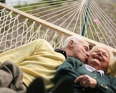 Growing Old Together, Beautiful images, just the kind that would look perfect with our custom made frames with a lovely quote or verse to go with it. www.photoframeoriginals.com