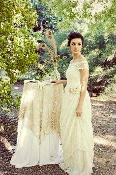 bayou bohemian: inspiring a deep south summer vintage wedding