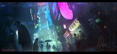 Blade runner tribute Blade runner for me, the standard cyberpunk by Vladimir Manyukhin Ville Cyberpunk, Cyberpunk Rpg, Cyberpunk Aesthetic, New Retro Wave, Retro Waves, Sci Fi Series, Futuristic City, Latest Hd Wallpapers, Digital Art