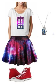 Doctor who by batgirlsupergirl on Polyvore featuring polyvore, fashion, style and Converse