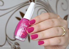 Esmalte Tagarelando da Gio Antonelli - Colorama   Pink nails   Unhas Rosas   by @morganapzk