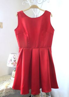 Free shipping Womens Summer Back Bow Evening Prom Party Gown Sun Skater Dress  vestido B066