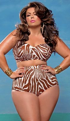 Plus size bikini - Every time I go to buy this bikini from MonifC.com it is sold out!  It's stunning!