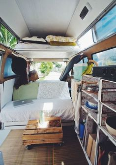 An up-cycled modern nomadic home, our shabby chic Volkswagen Kombi 1971! - Navigate on Trust