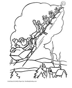 rudolph reindeer coloring page rudolph leads the way for santa