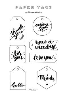 ギフトタグ Creative Gift Wrapping, Creative Gifts, Eraser Stamp, Tag Templates, Homemade Stickers, Paper Crafts Origami, Easy Diy Gifts, Bff Gifts, Printable Tags
