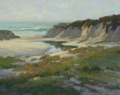 Serenity at Fan Shell Beach by Kim Lordier Pastel ~ 16 x 20