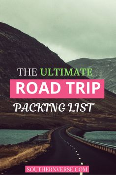 The Ultimate Road trip packing List is full of essentials you need before you leave for your destination. Don't leave without this packing list. #packinglist #roadtrip #simple #roadtripplanning Road Trip Packing List, Road Trip Essentials, Family Road Trips, Road Trip Hacks, Travel Packing, Family Travel, Vacation Packing, Packing Lists, Road Trip Destinations