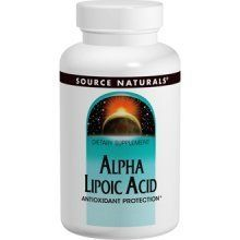 Alpha Lipoic Acid 600 mg - 120 - Capsule by Source Naturals. $28.55. Alpha Lipoic Acid 600 mg by Source Naturals Inc. 120 Capsule Alpha Lipoic Acid 600 mg 120 Capsule Alpha-lipoic acid is a powerful fat and water soluble antioxidant. It directly recycles vitamin C and indirectly recycles vitamin E providing additional antioxidant protection. It is also an important component in the glucose metabolism process within cells. Alpha-lipoic acid may support the normal insu...