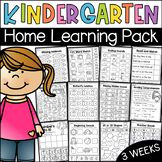 Kindergarten Home Learning Pack - Distance Learning Kindergarten Centers, Kindergarten Learning, Toddler Learning Activities, Home Learning, Math Centers, Math Activities, Alphabet Activities, Preschool, Teaching