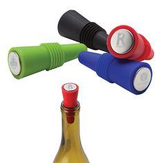 Promote your Brand with our Logoed Bonito Silicone Wine Stopper. Filtered Water Bottle, Custom Bottles, Wine Bottle Stoppers, Custom Packaging, Personalized Products, Laser Engraving, Service Design, Promotion, Custom Design