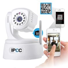 """This is a new HD 720P network camera, using the latest high performance HI3518C chip with 1/4"""" 1.0 megapixel CMOS sensor and P2P technology without any complicated settings, very easy to use anytime & anywhere with your mobile devices(smartphones, tablet PCs, laptops) for remote network monitoring. It is widely used in various kinds of indoor surveillance scenes, such as baby/pet/the senior care, garage/warehouse/retail shop/home/office monitoring, etc."""