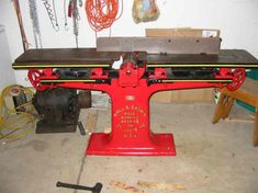"Photo Index - Hall & Brown Wood Working Machine Co. - 8"" Jointer 