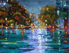 Night Rain by Debra Hurd