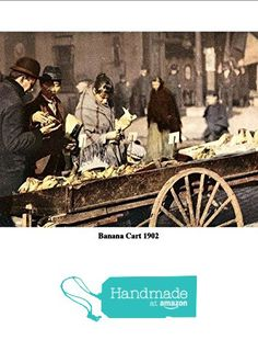 """Banana Cart"" Vintage American Street Scene, 1902 - Stunning, Highly Detailed A4 Glossy Art Print Exclusive to The Andromeda Print Emporium! from The Andromeda Print Emporium https://www.amazon.co.uk/dp/B01N2SDQB6/ref=hnd_sw_r_pi_dp_XH8vybV9NE7SV #handmadeatamazon"