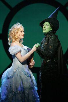 Kristin Chenoweth and Idina Menzel (Glinda and Elphaba): Wicked