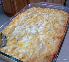 Wish Upon A Chef: Copy cat recipe for Cracker Barrel's hashbrown casserole