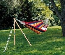 Looking for hammock stands? Browse our hammock accessory page or call 1-800-993-0265 for help.