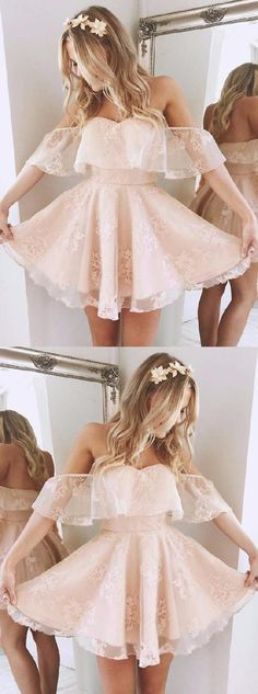 Short Homecoming Dresses, Prom Dress Short, A-Line Homecoming Dresses, Homecoming Dresses 2018 #Short #Homecoming #Dresses #Prom #Dress #2018 #ALine