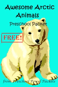 FREE Awesome Arctic Animals PreK Pack