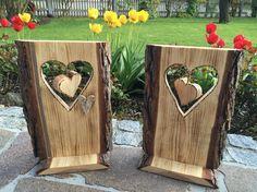 Holzschild Herz