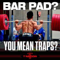 T-Nation.com #workout #squat #traps