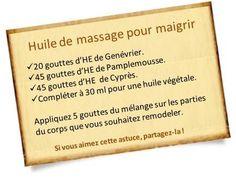 huile de massage aux huiles essentielles pour mincir  lire la suite / http://www.sport-nutrition2015.blogspot.com