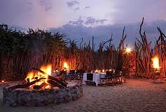 Boma Dinners at Leopard Hills Private Game Reserve, Sabi Sand Game Reserve Best Wood For Furniture, Sand Game, Private Games, Relaxing Places, Out Of Africa, Game Reserve, African Safari, Outdoor Cooking, Beast