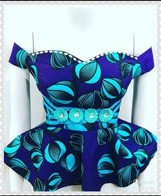Short African Dresses, Latest African Fashion Dresses, African Print Fashion, African Blouses, African Lace, Shirts & Tops, Traditional African Clothing, Ankara Blouse, Ankara Designs