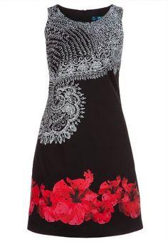 VEST_BÉLGICA - Summer dress - black