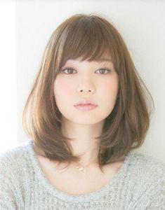 28 Best Japanese Haircut Images Medium Hair Styles Up Dos Medium