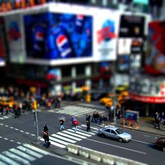Tilt Shift Photography uses tricks  of perspective to make anything look like a model!
