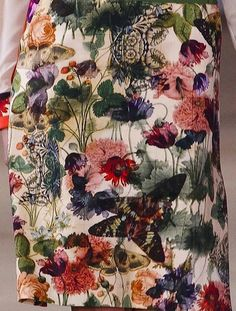 Preen Fall 2012 floral prints.