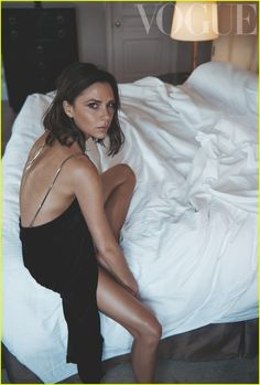 Victoria Beckham Reveals How She Fell In Love with Hubby David In 'British Vogue'!: Photo #3747833. Victoria Beckham is absolutely gorgeous as she takes the 2016 October cover of British Vogue, on newsstands now!    The 42-year-old fashion designer has written…