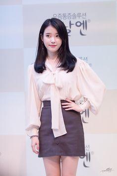 K-Pop Babe Pics – Photos of every single female singer in Korean Pop Music (K-Pop) Korean Fashion Dress, Iu Fashion, Fashion Outfits, Womens Fashion, Korean Celebrities, Celebs, Korean Haircut, Korean Actresses, Looks Style