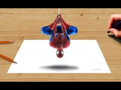 3D Colored Pencil Drawing: the Amazing Spider-Man 2 - Speed Draw | Jasmina Susak - YouTube