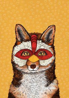 ChickenFox by Sandra Dieckmann