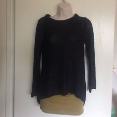 Zara Knit Sequined Pullover Sweater Zara Knit Size S Black New with tags Polyester/Acrylic/Viscose/Cotton Sequined Bundle for discounts! Reasonable offers considered. Thank you for shopping my closet! Zara Sweaters Crew & Scoop Necks