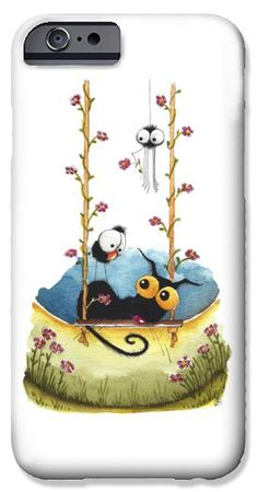Summer swing iPhone 6 Case by Lucia Stewart
