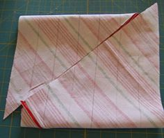 How to easily make a continuous strip of bias tape