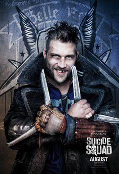 Esquadrão Suicida vira sopa de letrinhas em novo cartaz para IMAX