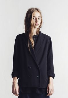 BLAZER VOULA BLACK in the group All items / Blazers at Rodebjer Form AB (E120004_999_Lr) Strl S 2499kr