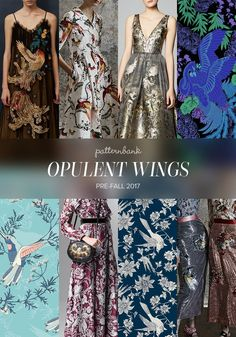 The Patternbank Team have beenanalysing the latest Pre-Fall2017 collections and have put together the strongest print trends alongside designs from theP
