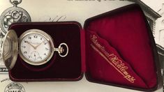 Vintage timepieces - IWC pocket watch