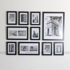 Photo Picture Frame Set   Modern 10 by HOMELOO on Etsy