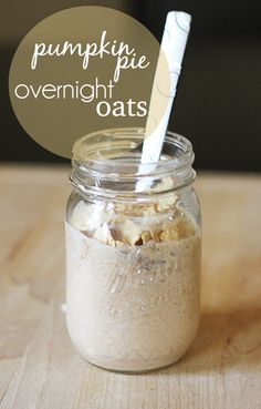 Pumpkin+Pie+Overnight+Oats+http://lecremedelacrumb.com/2013/07/pumpkin-pie-overnight-oats.html