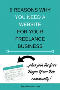 Don't want to set up a website for your freelance business? Think again! In this article, find out the 5 reasons why you need a website for your freelance business... plus what you can do to set up your website over the next few weeks and have FUN while you're at it!