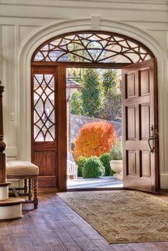 Great doors   Gabriel Builders traditional entry